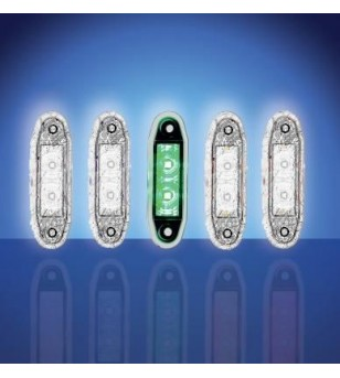 4500 - LED Marker lamp Green - 1001-4005-G - Lighting - Unspecified