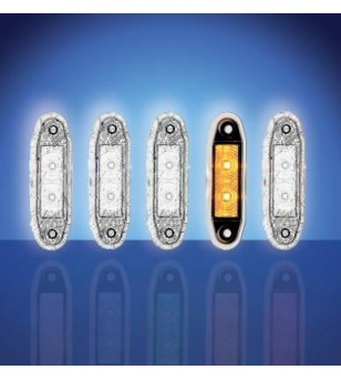 4500 - LED Marker lamp Yellow - 1001-4005-A - Lighting - Unspecified