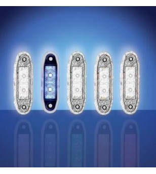 4500 - LED Markeringslamp Blauw - 1001-4005-B - Verlichting - Unspecified