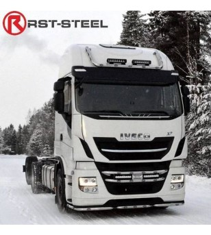 Iveco Stralis 2013- - Light Bar Double - 1806 - Roofbar / Roofrails - RST-Steel - Grille Bars