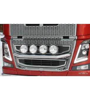 Volvo FM 2013- Light Bar V3.0 - 1185 - Bullbar / Lightbar / Bumperbar - RST-Steel - Grille Bars