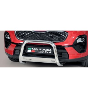 Sportage 18- EC Approved Medium Bar Inox - EC/MED/403/IX - Bullbar / Lightbar / Bumperbar - Unspecified