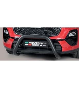 Sportage 18- EC Approved Super Bar Inox Black Powder Coated - EC/SB/403/PL - Bullbar / Lightbar / Bumperbar - Unspecified