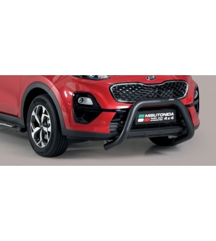 Sportage 18- Super Bar Inox Black Powder Coated - SB/403/PL - Bullbar / Lightbar / Bumperbar - Unspecified