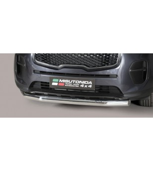 Sportage 16- Slash Bar Inox - SLF/403/IX - Bullbar / Lightbar / Bumperbar - Unspecified