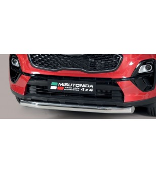 Sportage 18- Slash Bar Inox - SLF/403/IX - Bullbar / Lightbar / Bumperbar - Unspecified