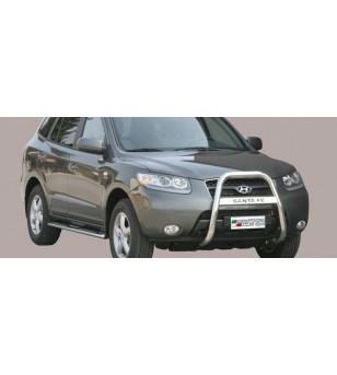 Santa Fe 2006-2010 High Medium Bar inscripted - MA/K/176/IX - Bullbar / Lightbar / Bumperbar - Unspecified