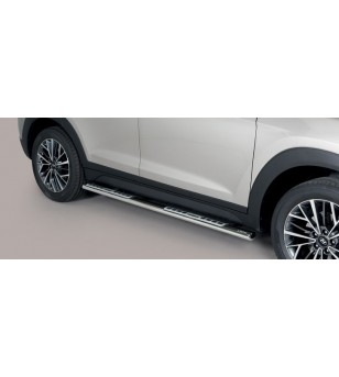 Tucson 18- Design Side Protections Inox - DSP/391/IX - Sidebar / Sidestep - Unspecified