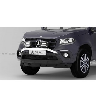 Mercedes X-Klasse 17+ LAMP HOLDER H-BAR - 818806 - Bullbar / Lightbar / Bumperbar - Metec Car/SUV - Verstralershop