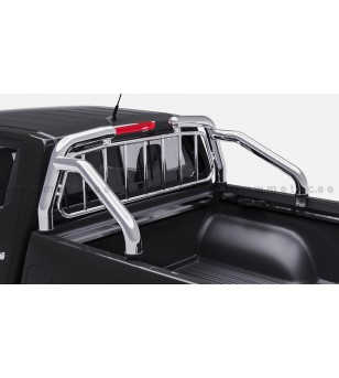 Mercedes X-Class 17+ OVERROLLS with grille set - 823510 - Rollbars / Sportsbars - Metec Car/SUV