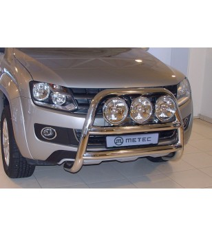 VW AMAROK 11-15 FRONTBAR 3x lamp fixings pcs - 840643 - Bullbar / Lightbar / Bumperbar - Metec Car/SUV
