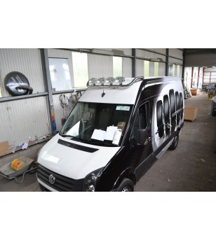 MAN TGE 17+ Roofbar RVS - RB-BRAGVWC07 - Roofbar / Roofrails - Unspecified