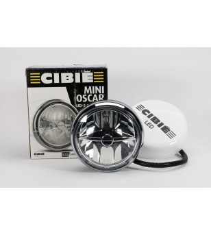 Cibie Mini Oscar LED Black & Chrome