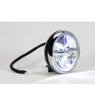 Cibie Mini Oscar LED Black & Chrome - 45301 - Lighting - Cibié Mini Oscar LED
