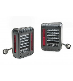 JW Speaker Model 279 LED ECE  Jeep JK 2007-2018 tail lights (set) - 404279JSET - Verlichting - Unspecified - Verstralershop