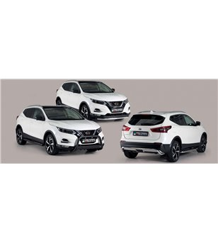 Qashqai 2017- Medium Bar inscripted EU Black Powder Coated