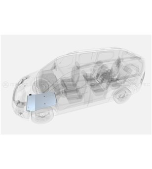 CITROEN BERLINGO 18+ SKID PLATE for engine pcs - 826470 - Overige accessoires - Metec Van - Verstralershop