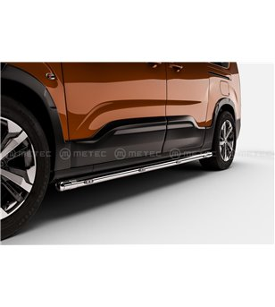 OPEL COMBO 18+ L1 BRACE-it SIDEBARS with LEDs pair