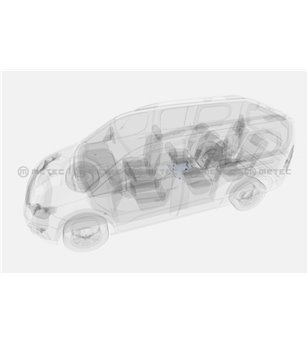OPEL COMBO 18+ SKID PLATE for fuel filter pcs