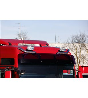 MAN TGX 07+ LIFT-UP ROOF LAMP HOLDER - XLX & XXL ROOF