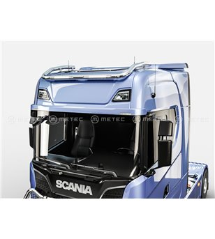 SCANIA R/S Serie 16+ ROOF LAMP HOLDER with 2x Rigid SR20 LEDBAR - Normal & High roof