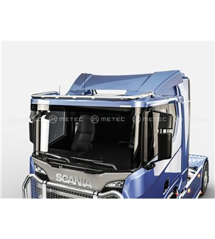 SCANIA R/G/P Serie 16+ ROOF LAMP HOLDER LED WIDE - Low roof - 864657 - Roofbar / Roofrails - Metec Truck - Verstralershop