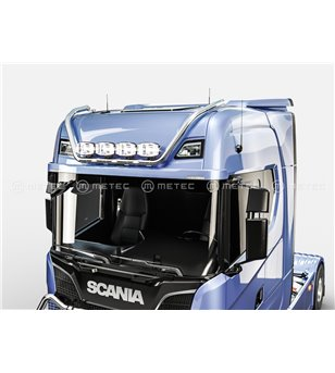 SCANIA R/S/G Serie 16+ ROOF LAMP HOLDER LED MAX - High roof - 864601 - Roofbar / Roofrails - Metec Truck - Verstralershop