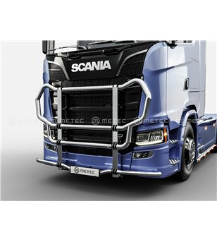 SCANIA R/S/G Serie 16+ TRUCK GRIFFIN-1 CATTLEGUARD - Medium & High bumper - 864544 - Bullbar / Lightbar / Bumperbar - Verstraler