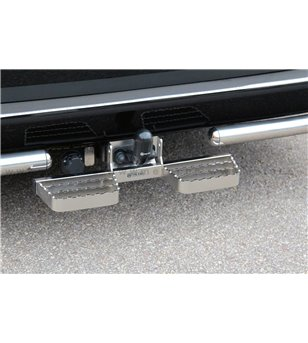 NISSAN NAVARA 16+ RUNNING BOARDS to tow bar pcs SMALL - 888419 - Rearbar / Rearstep - Verstralershop
