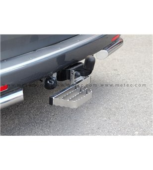 FIAT FULLBACK 16+ RUNNING BOARDS to tow bar RH LH pcs - 888422 - Rearbar / Opstap - Metec Car/SUV - Verstralershop