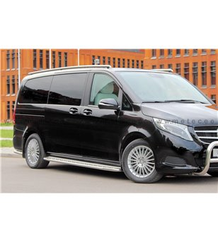 MB V class + VITO 14+ RUNNING BOARDS SIDE BOARD TOUR - WB L1 & L2