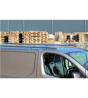 NISSAN NV300 15+ L1 RAILINGS pair - 828470 - Roofbar / Roofrails - Metec Van - Verstralershop