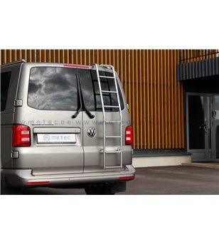 VW T5 03 to 15 Rear ladder - 840404 - Rearbar / Rearstep - Metec Van - Verstralershop