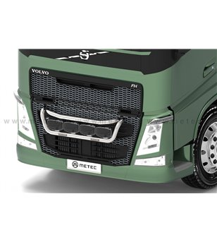 VOLVO FM 14+ FRONT LAMP HOLDER with strobes CLASSIC - 868667 - Bullbar / Lightbar / Bumperbar - Verstralershop