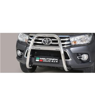 TOYOTA HILUX 19+ High Medium Bar Inox