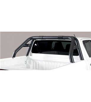 TOYOTA HILUX 19+ Roll Bar Mark Design Black Coated - RLD/K/410/PL - Rollbars / Sportsbars - Verstralershop
