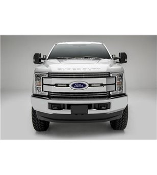 "Ford Super Duty 2017- Grille LED Kit Black - incl 2x 6"" led (Lariat, King Ranch)"