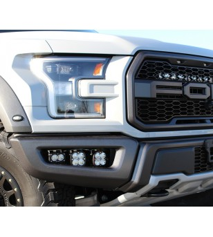 Ford Raptor 17+ Baja Designs - Fog Pocket Kit Sportsmen - 447564 - Lighting - Baja Designs Vehicle Specific Kits - Verstralersho