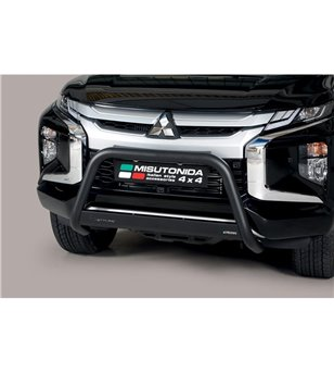 L200 DC 2019-, EC Approved Medium Bar Mark inox Black Powdercoated - EC/MED/460/PL - Bullbar / Lightbar / Bumperbar - Unspecifie