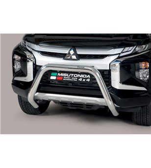 L200 DC 2019- EC Approved Super Bar Inox - EC/SB/460/IX - Bullbar / Lightbar / Bumperbar - Unspecified - Verstralershop