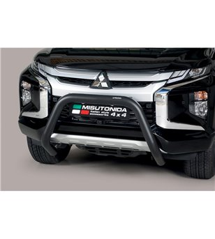 L200 DC 2019- EC Approved Super Bar Inox Black Powdercoated - EC/SB/460/PL - Bullbar / Lightbar / Bumperbar - Unspecified - Vers