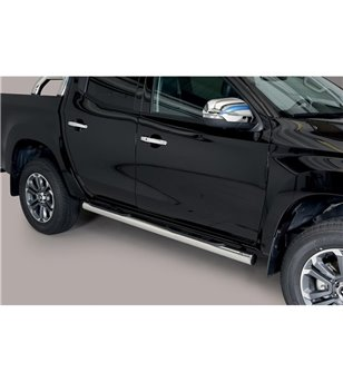 L200 DC 2019- Grand Pedana (Side Bars with steps) Inox - GP/390/IX - Bullbar / Lightbar / Bumperbar - Unspecified - Verstralersh