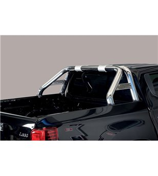 L200 DC 2019- Roll Bar Mark on Tonneau Inox (2 pipes version) - RLSS/K/2390/IX - Rollbars / Sportsbars - Unspecified - Verstrale