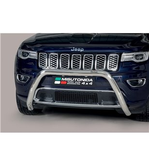 Grand Cherokee 15- Super Bar ø76 EU - EC/SB/457/IX - Bullbar / Lightbar / Bumperbar - Verstralershop