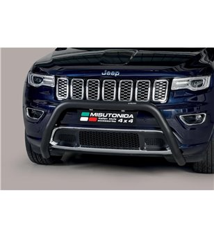 Grand Cherokee 15- Super Bar ø76 EU Black Powder Coated - EC/SB/457/PL - Bullbar / Lightbar / Bumperbar - Verstralershop