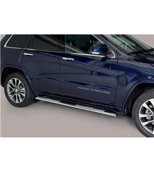 Grand Cherokee 15- Design Side Protection Oval - DSP/457/IX - Sidebar / Sidestep - Verstralershop