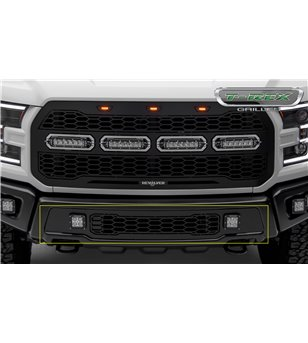 Ford Raptor 2017+ Revolver Bumper Grille incl LED pods - 6525661 - Other accessories - T-Rex Revolver LED Grilles - Verstralersh