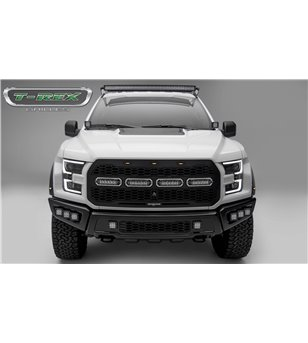 "Ford Raptor 2017+ Revolver Grille incl 4 6"" LEDs - 6515671 - Other accessories - T-Rex Revolver LED Grilles - Verstralershop"