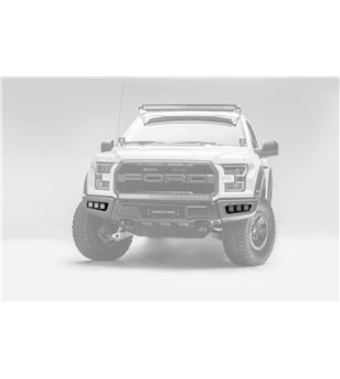 Ford Raptor 2017+ Front Bumper OEM Fog LED Kit - incl LED pods