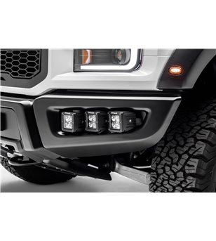 Ford Raptor 2017+ Front Bumper OEM Fog LED Kit - incl LED pods - Z325652-KIT - Other accessories - Zroadz Led Kit Packages - Ver